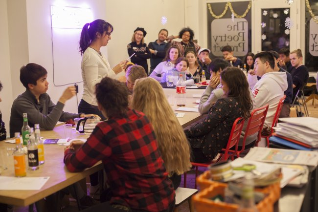 The Poetry Project Workshop